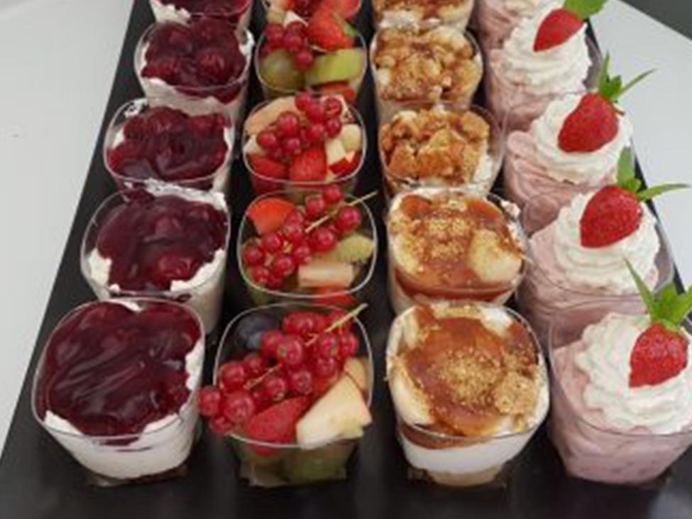 Luxe desserts bestellen